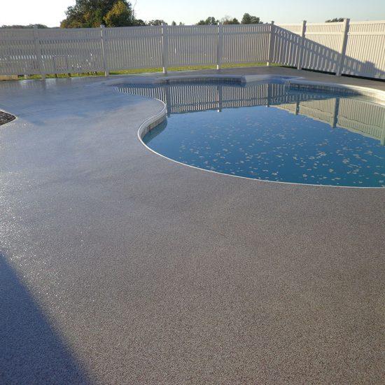 Granit Pool Deck